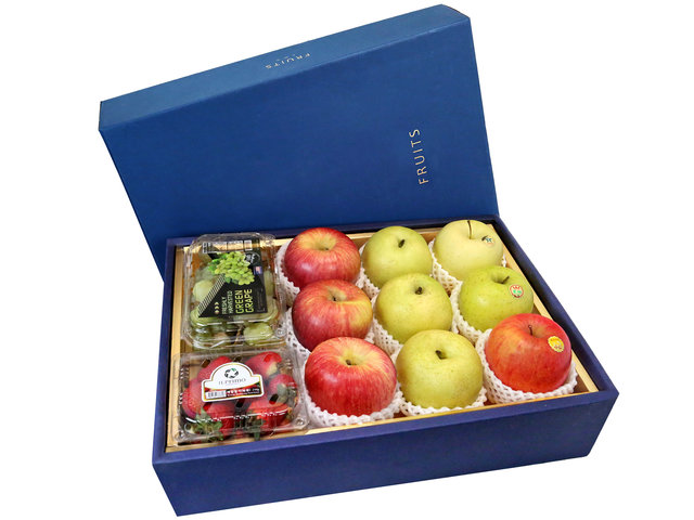 Fruit Basket - CNY Fruits Gift Box CNY29 - 0FB0112B1 Photo