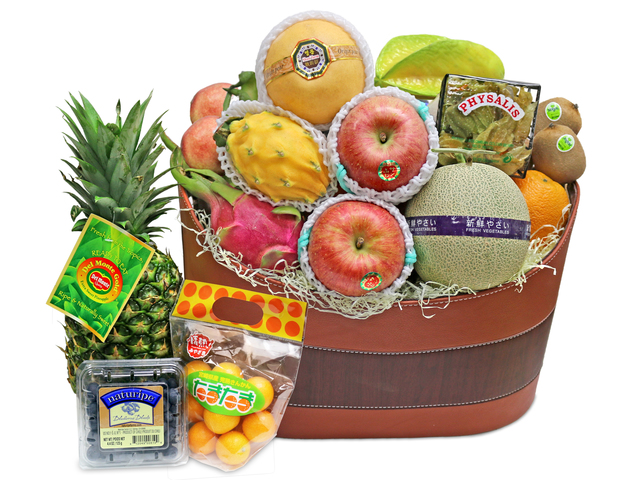 Fruit Basket - Delux Fruit Basket G29 - L36669970 Photo