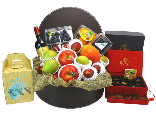 Fruit Basket - Delux Fruit Hamper 6 - L19913 Photo