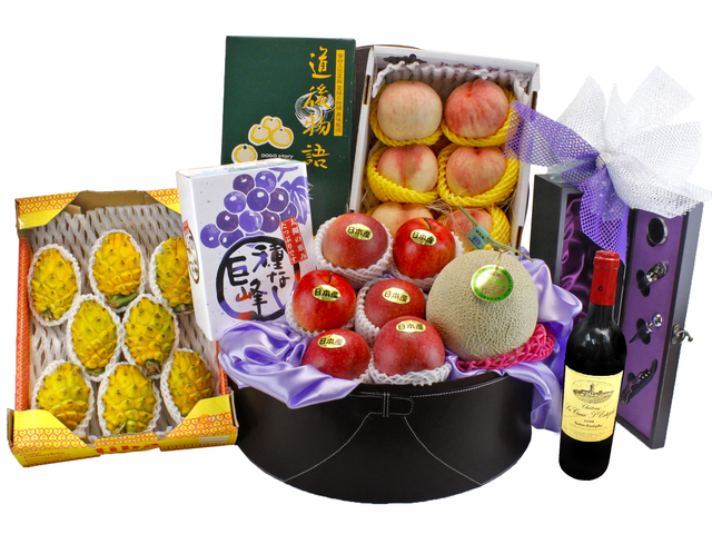 Fruit Basket - Deluxe Japanese Fruit Gift Hamper (A3) - L90034 Photo
