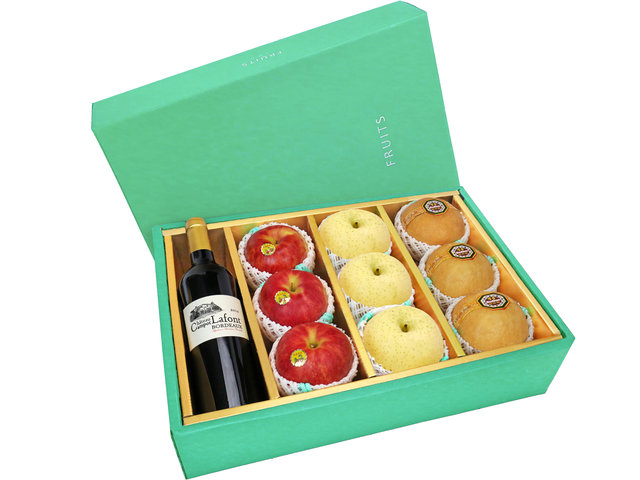 Fruit Basket - Fruits Gift Box Y22 - 0O0808A8 Photo