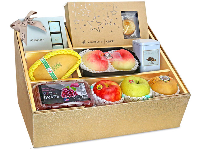 Fruit Basket - Mid Autumn Panorama Fruits Gift Box M22 - 0DP0710D6 Photo