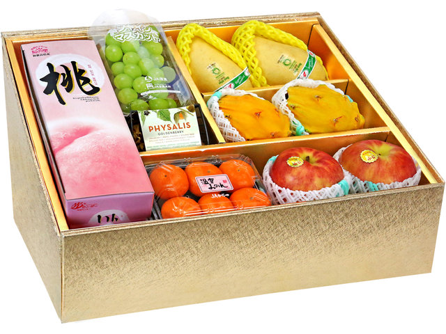 Fruit Basket - Mid Autumn Panorama Fruits Gift Box M38 - 0DP0731A2 Photo