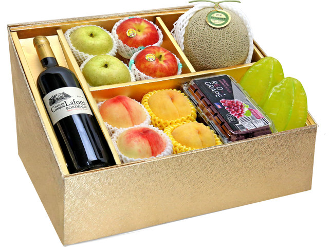 Fruit Basket - Mid Autumn Panorama Fruits Gift Box M39 - 0DP0802A2 Photo