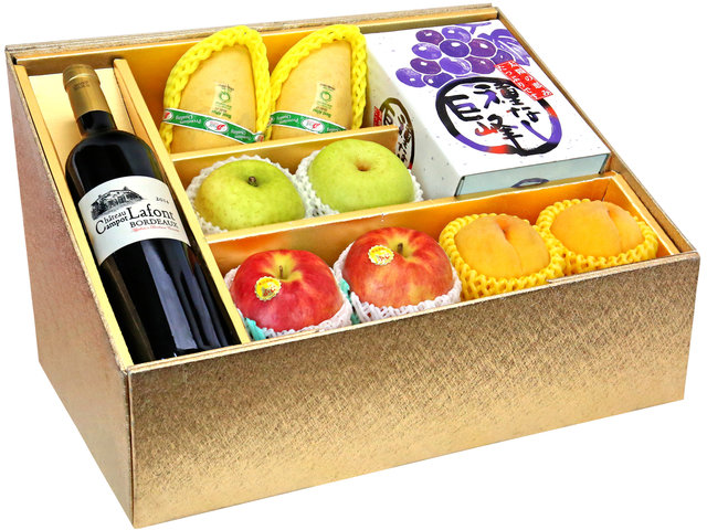 Fruit Basket - Mid Autumn Panorama Fruits Gift Box M41 - 0DP0802A1 Photo