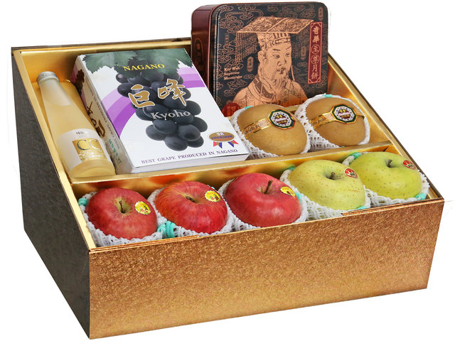 Fruit Basket - Mid Autumn Panorama KeeWah Moon Cake Fruits Gift Box M25 - 0DP0628C1 Photo
