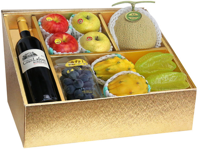 Fruit Basket - Panorama Fruits Gift Box Z12 - 0O0808A2 Photo