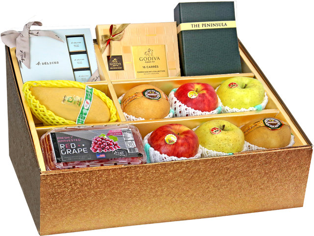 Fruit Basket - Panorama Fruits Gift Box Z24 - 0O0808A4 Photo