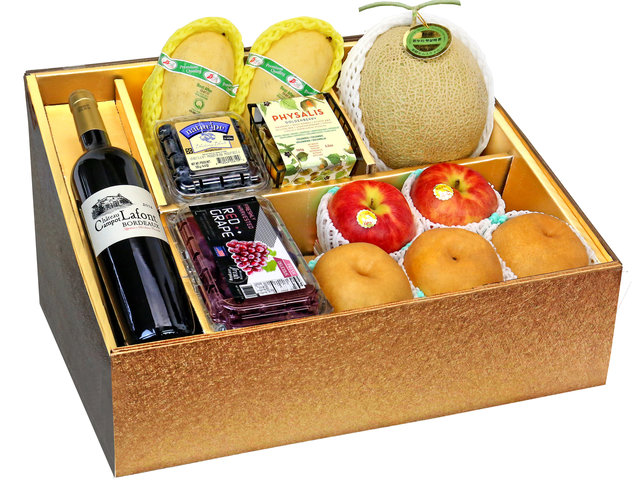 Fruit Basket - Panorama Fruits Gift Box Z40 - 0O0808A3 Photo