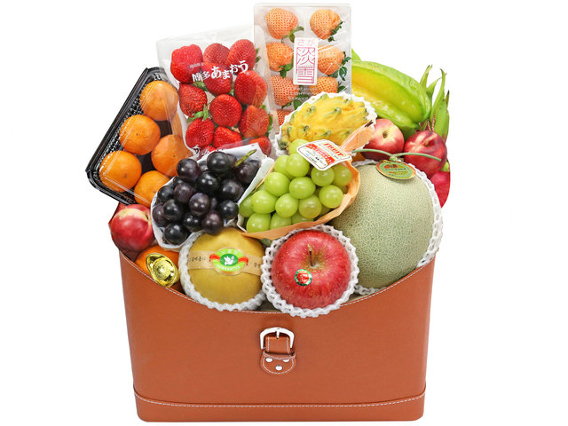 Fruit Basket - Premium Fruit Baskets C70 - FT0221A8 Photo