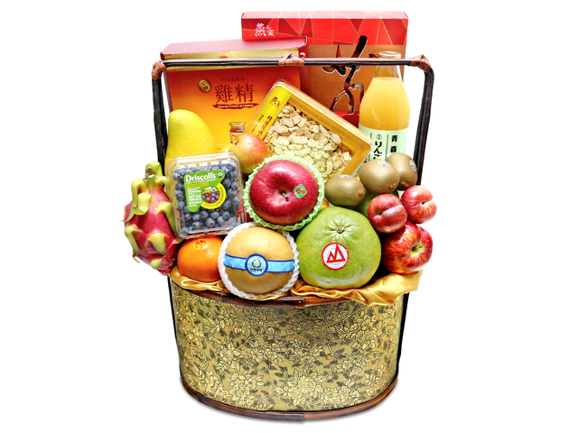 Fruit Basket - fruit hamper G11 - L76601090 Photo