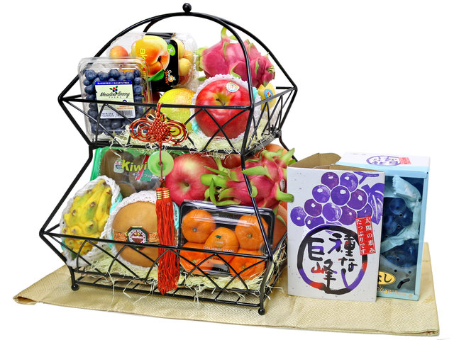 Fruit Basket - fruit hamper M1 - L76607763A Photo