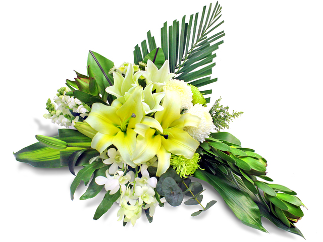 Funeral Coffin n Casket Flower - Coffin flower 7 - L105298 Photo