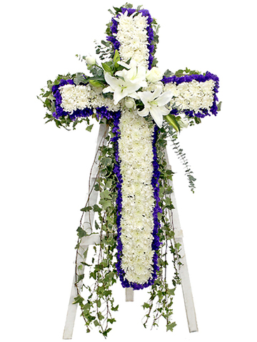 Funeral Flower - Funeral Floral Cross - L101983 Photo