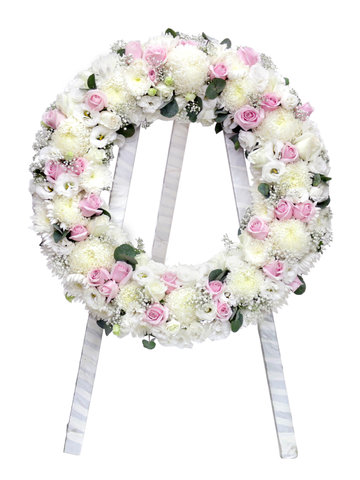 Funeral Flower - Funeral Floral Wreath FL01 - L76603017 Photo