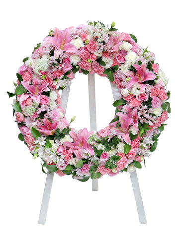 Funeral Flower - Funeral Floral Wreath FL02 - L76603019 Photo