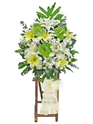Funeral Flower - Funeral Flower Stand N10 - L176215 Photo