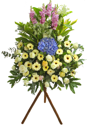 Funeral Flower - Funeral Flower Stand N1 - L65129 Photo