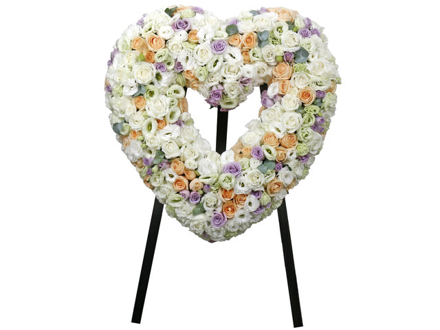 Funeral Flower - Funeral Heart Stand 28 - L76610419 Photo
