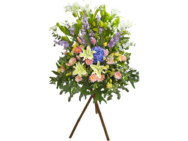 Funeral Flower - Funeral Stand N2 - L65134 Photo