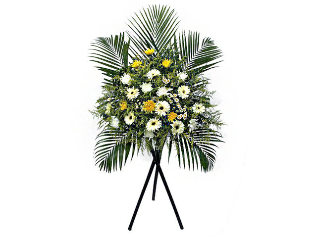 Funeral Flower - Funeral Stand N4 - L101778 Photo