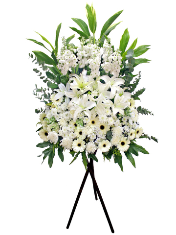 Funeral Flower - Funeral Stand N6 - L158215 Photo