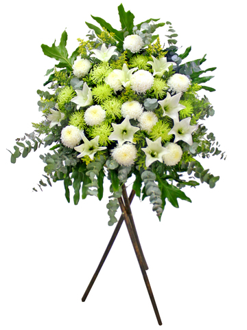 Funeral Flower - Funeral Stand N8 - L173994 Photo