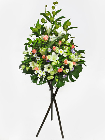 Funeral Flower - Funeral Tall Stand 2 - L11657 Photo