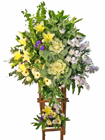 Funeral Flower - Funeral Tall Stand D1 - L80217 Photo