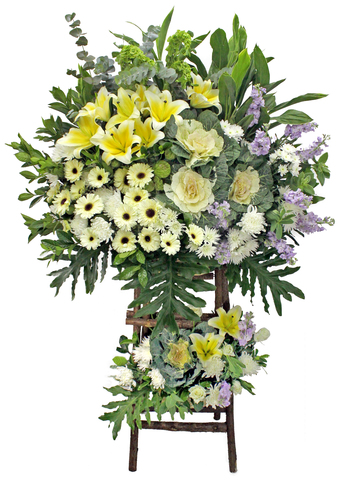 Funeral Flower - Funeral Tall Stand D3 - L103166 Photo