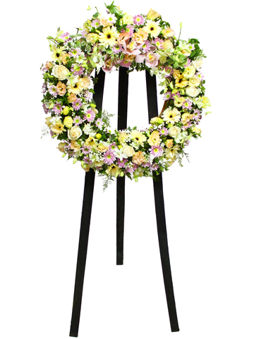 Funeral Flower - Funeral Wreath 2 - L11617 Photo