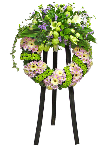 Funeral Flower - Funeral Wreath 3 - L11622 Photo