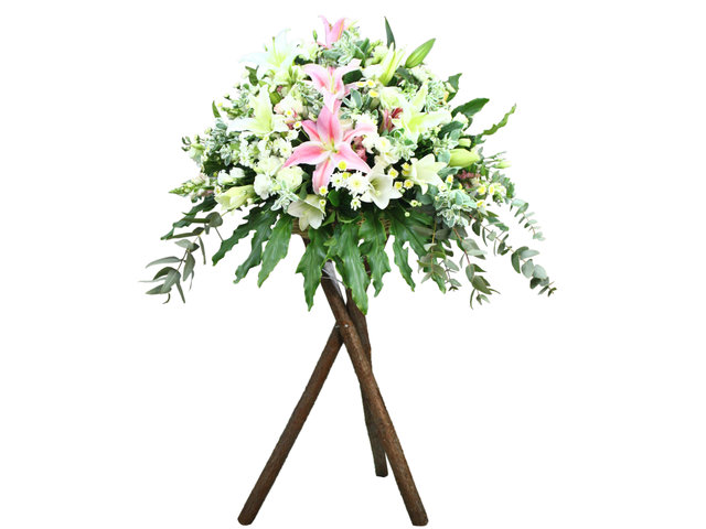 Funeral Flower - Funeral flower stand 04 - L0187613 Photo