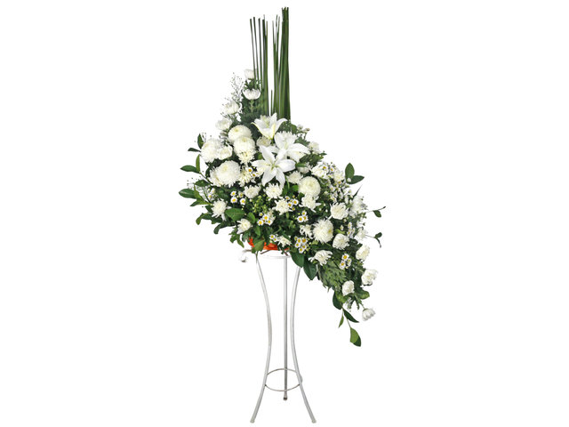 Funeral Flower - Funeral flower stand BA1 - L76610542 Photo