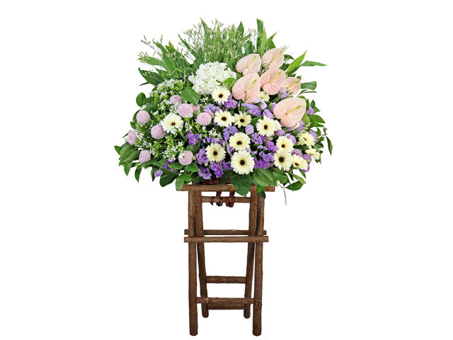 Funeral Flower - Funeral flower stand BA25 - L9240 Photo