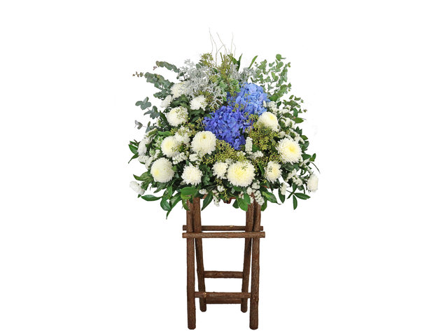 Funeral Flower - Funeral flower stand BA26 - L9655 Photo