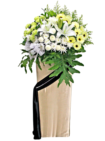 Funeral Flower - Funeral flower stand F1 - L105359 Photo