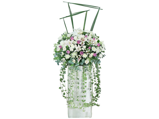 Funeral Flower - Funeral flower stand F5 - L76608898 Photo