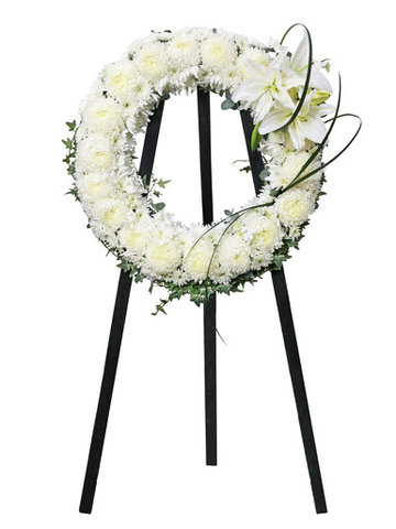 Funeral Flower - Funeral flower weath BC02 - Ll76610583 Photo