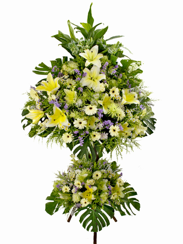 Funeral Flower - Funeral stand 12 - L05409 Photo