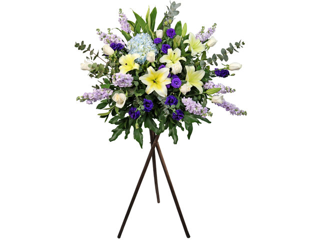 Funeral Flower - Italy florist Collection A38 - L2323 Photo