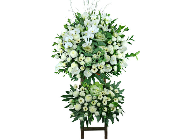 Funeral Flower - Large Funeral Flower Stand G9 - L76608875 Photo