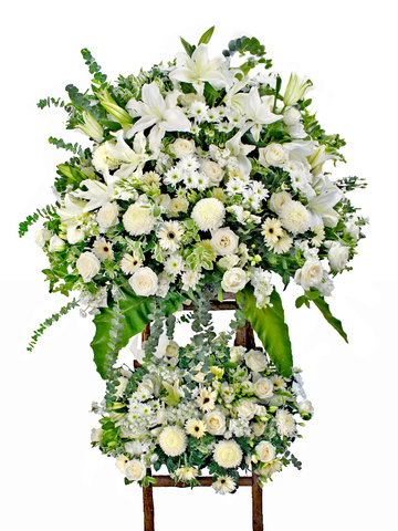 Funeral Flower - Large Funeral Tall Stand G1 - L87806 Photo