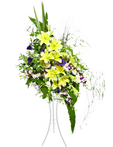 Funeral Flower - Mellow Basket flower basket 17 - L16838 Photo