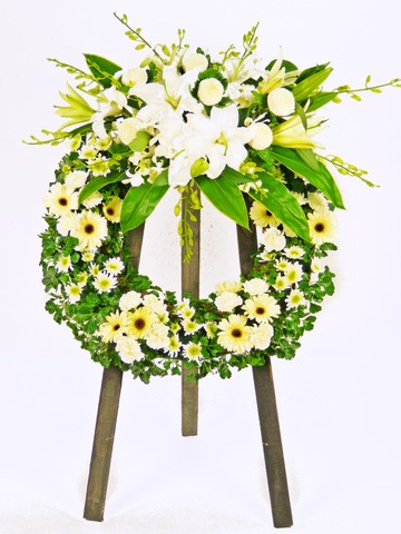 Funeral Flower - Wreath (A) - P1002 Photo