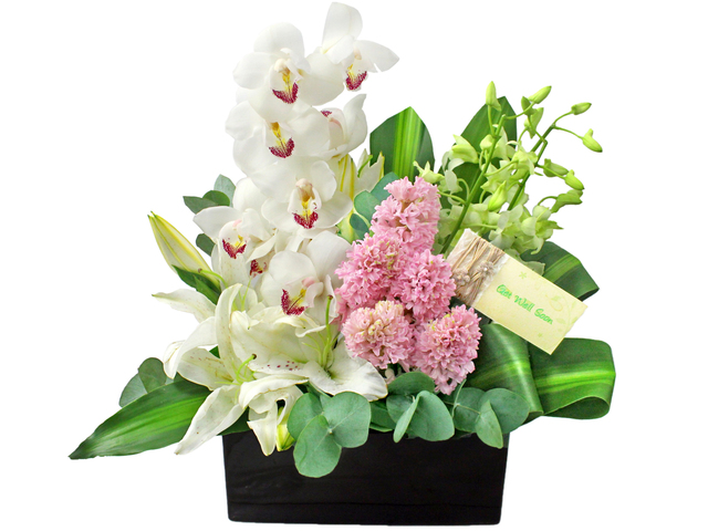 Get Well Soon Gift - Get Well Florist Vase Decor 10 - L0199252 Photo