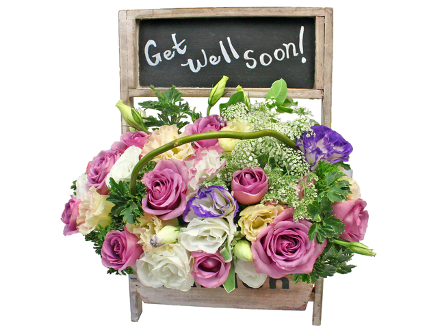 Get Well Soon Gift - Get well basket20 - L193796 Photo
