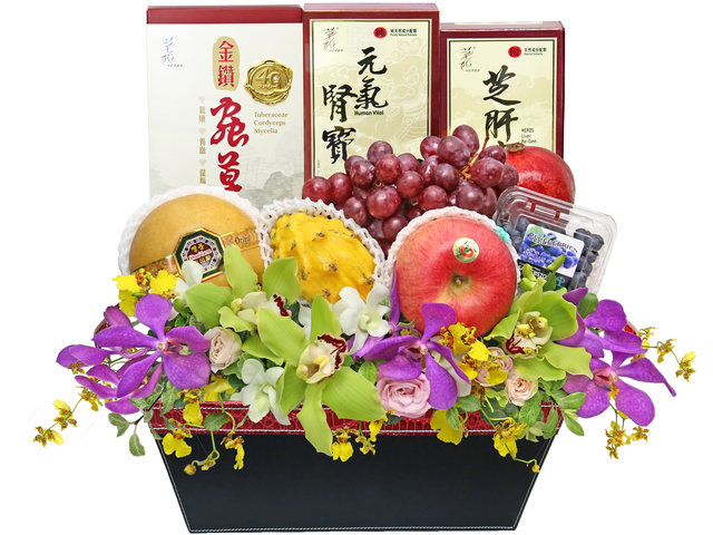 Get Well Soon Gift - Health and Wellness, Lifestyle hamper 0315A1 - HR0315A1 Photo