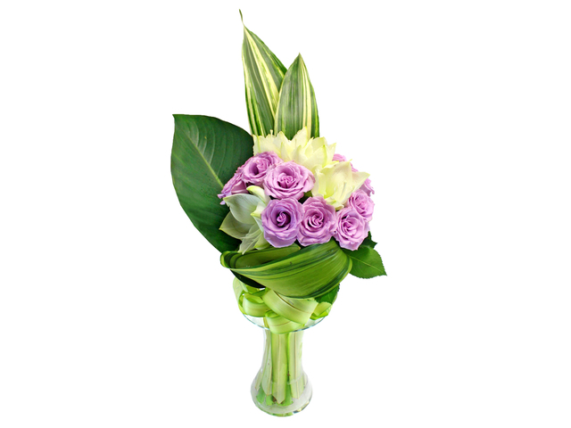 Get Well Soon Gift - Recovery Flower in Vase 13 - L154602 Photo