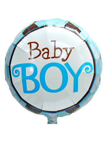 Gift Accessories - Baby boy 18 inches Helium Balloon - L3666931 Photo